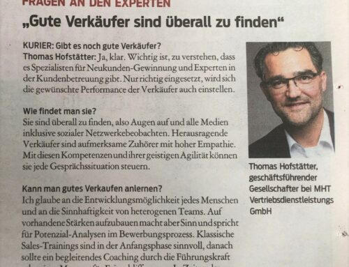 Kurier Interview vom 03.04.2021
